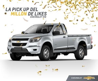 Chevrolet S10 La pick-up del millón de likes