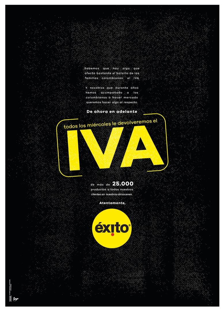 Miércoles  sin IVA: El día que un paro nacional se convirtió en promo