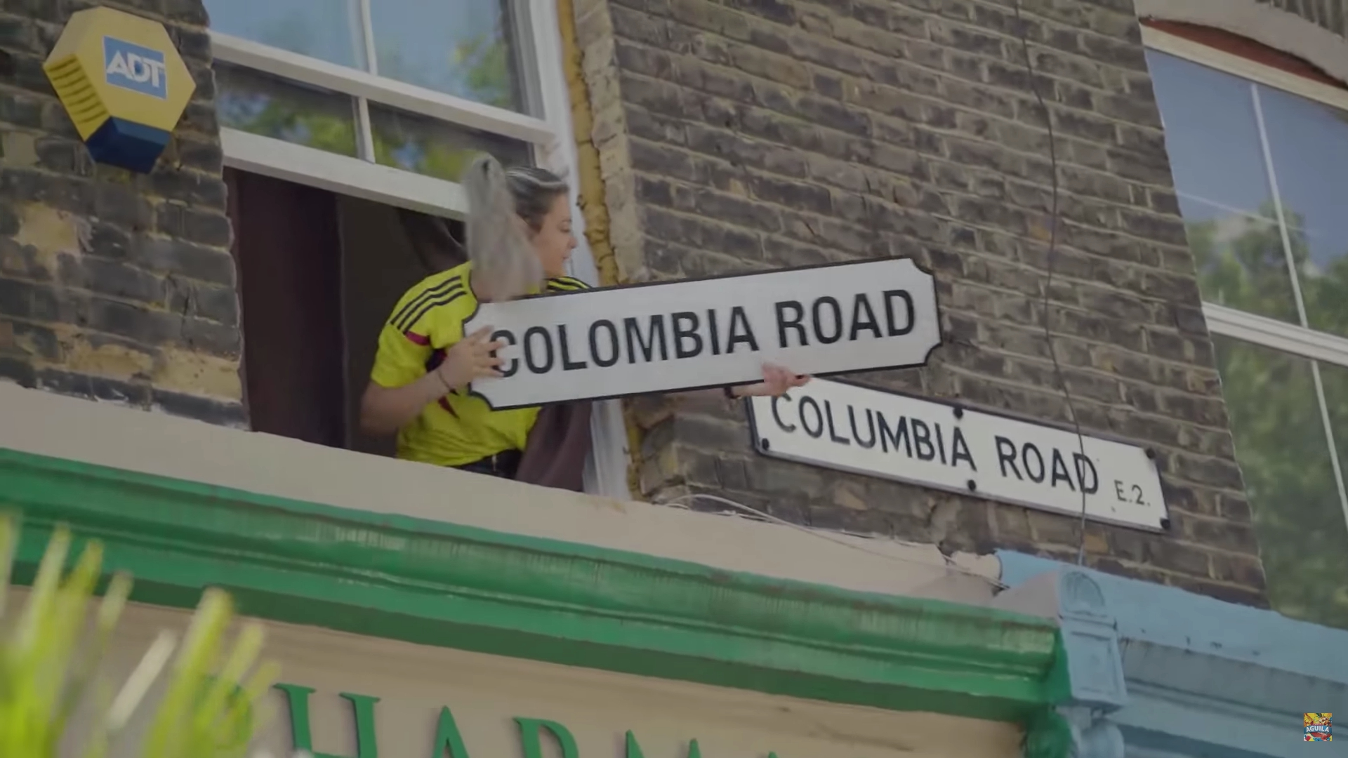 De Columbia a Colombia Road