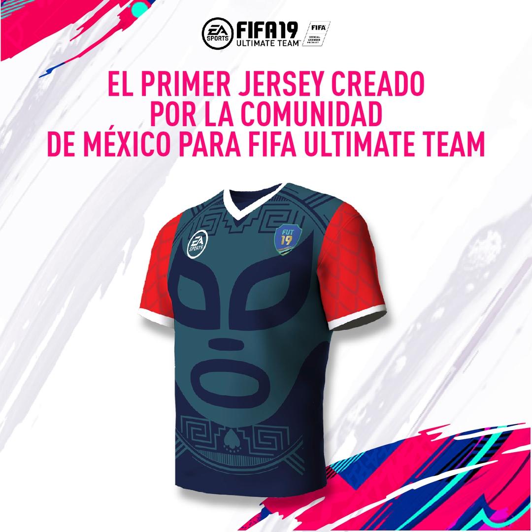 FIFA 19 Jersey para Comunidad MX