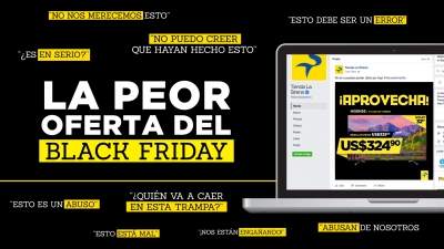 La peor oferta del Black Friday