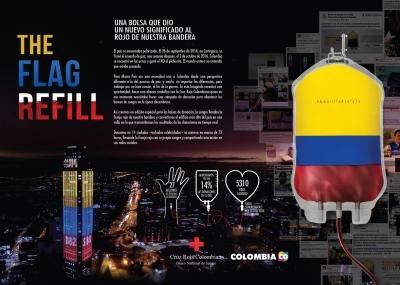 #AmarilloAzulyyo/The Flag Refill