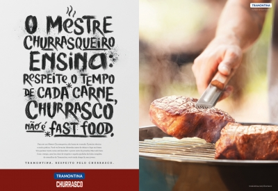 Respect for churrasco