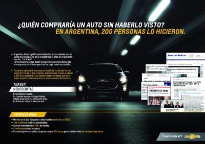 Chevrolet Cruze Meritócratas