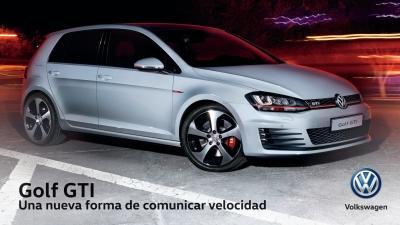 Golf GTI: Una nueva forma de comunicar velocidad