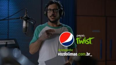 Pepsi Twist - limón sin voz