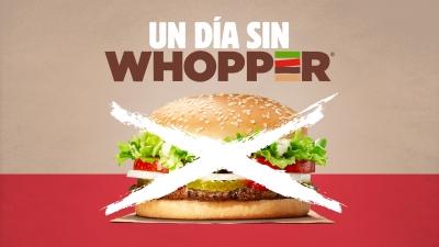 Un día sin Whopper