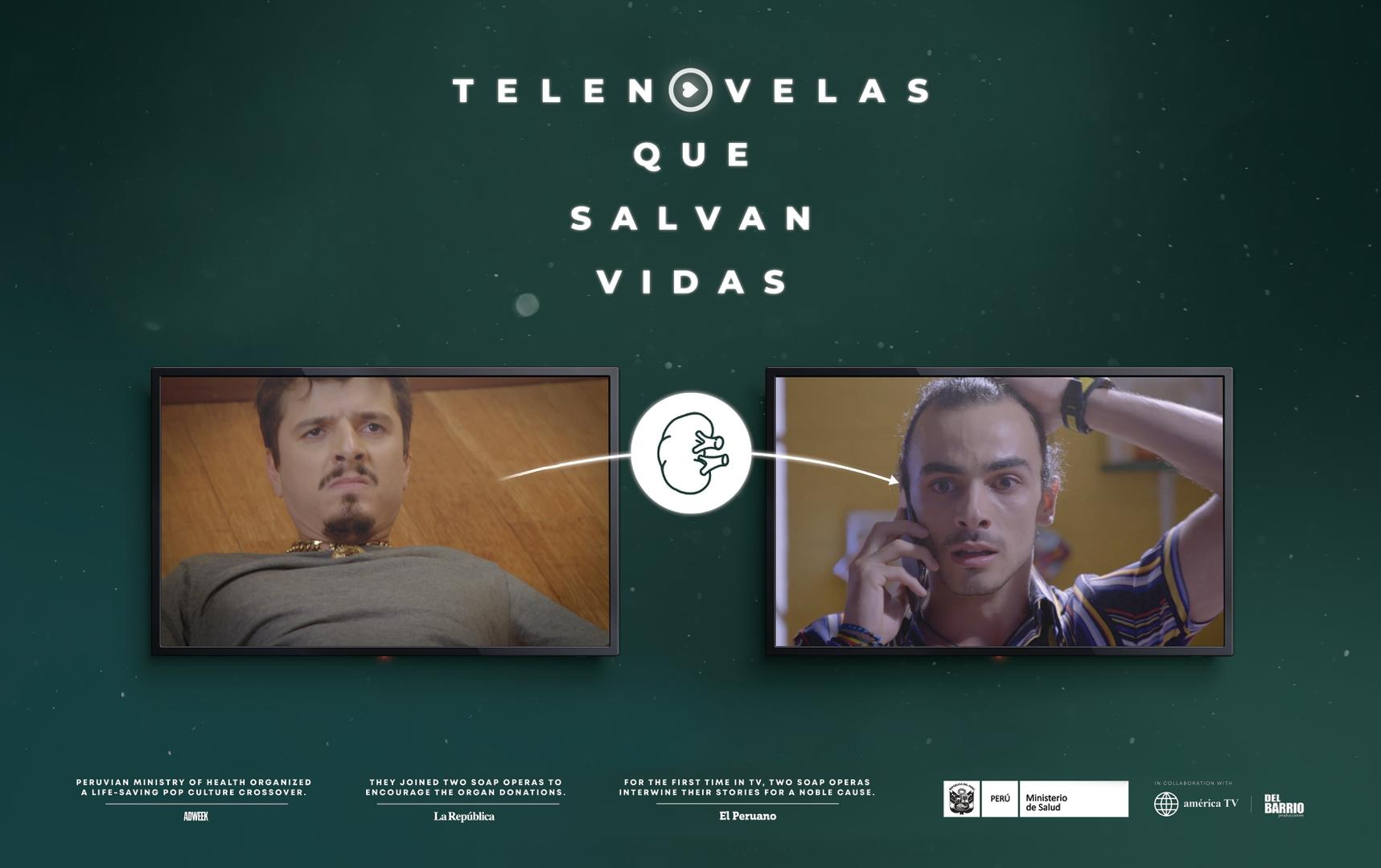 Telenovelas que salvan vidas