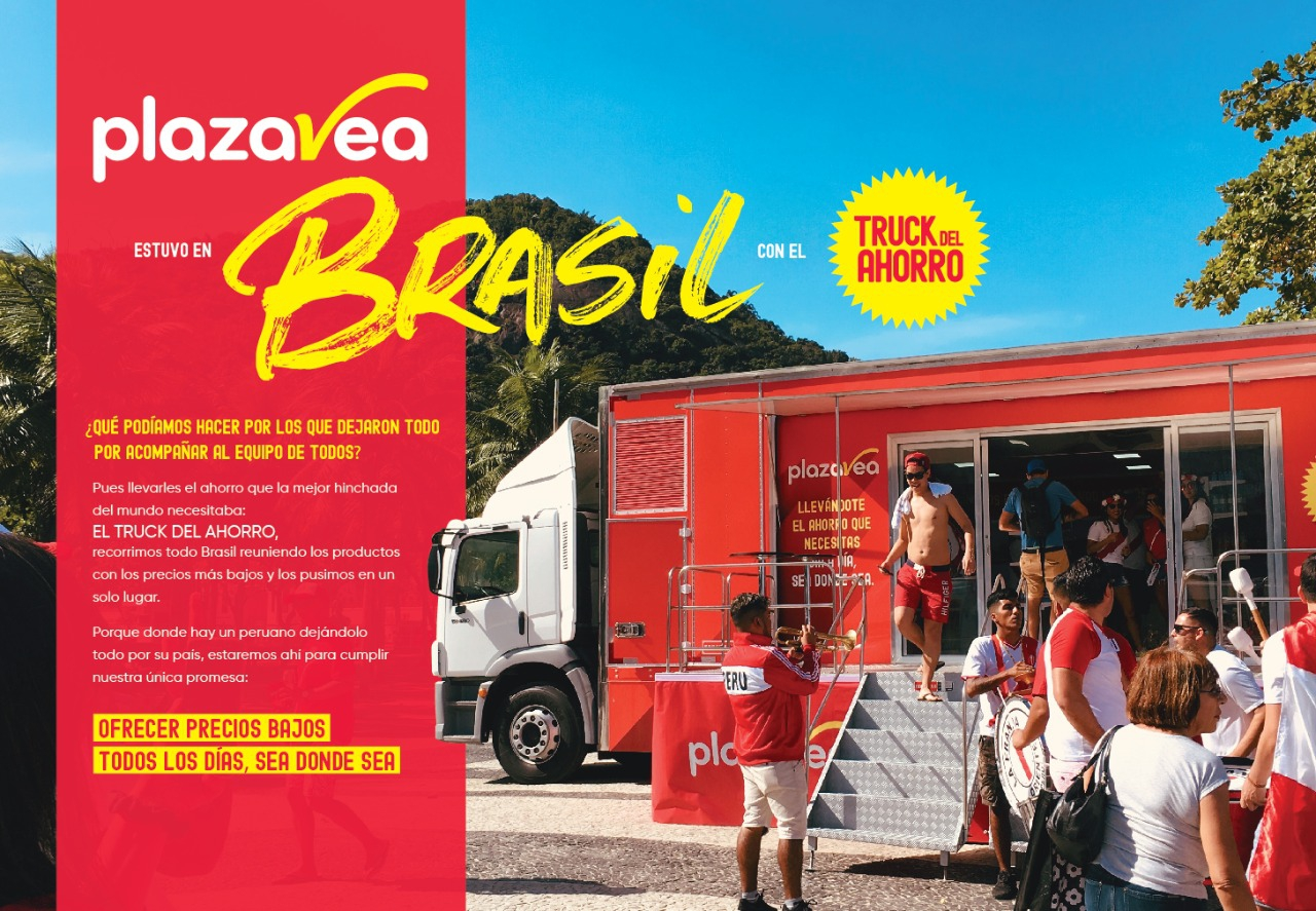 Truck del ahorro en Brasil 2019