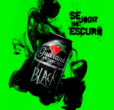 Guaraná Antarctica Black - Tírate a lo oscuro